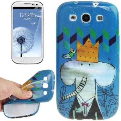 Ochranný kryt pre Samsung Galaxy SIII- Elephant