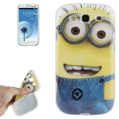 Ochranný kryt Mimoni pre Samsung Galaxy SIII- face