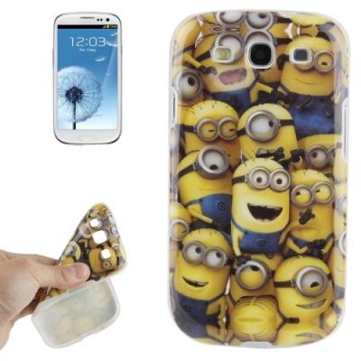 Ochranný kryt Mimoni pre Samsung Galaxy SIII- lots of