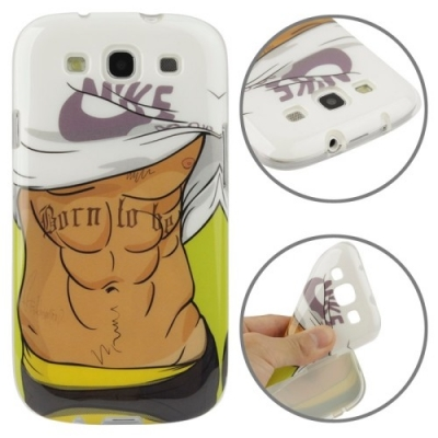 Flexi kryt pre Samsung Galaxy SIII- Sexy Muscles SEXY SERIES