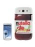 Štýlový ochranný kryt pre Samsung Galaxy SIII- Nutella