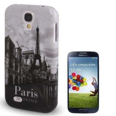 Štýlový ochranný kryt pre Samsung Galaxy SIV/i9500- Paris