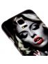 Štýlový ochranný kryt pre Samsung Galaxy S5 mini/G800-Smoking Marilyn Monroe