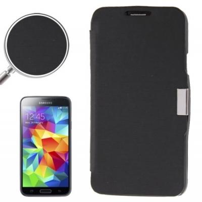 Samsung Galaxy S5 mini / G800 -Módne diárové ochranné púzdro-čierne