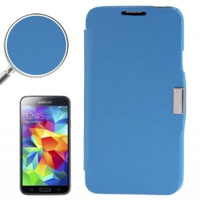 Samsung Galaxy S5 mini / G800 -Módne diárové ochranné púzdro-modré