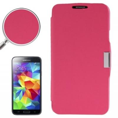 Samsung Galaxy S5 mini / G800 -Módne diárové ochranné púzdro-ružové