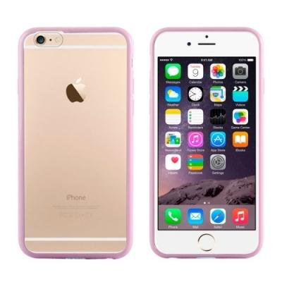 Bumper Case iPhone 6 Plus - Ochranný rám s krytom pre iPhone 6 Plus ružový