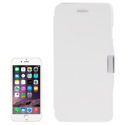 Flip Case iPhone 6 Plus - Diárové zaklápacie ochranné púzdro pre iPhone 6 plus biele
