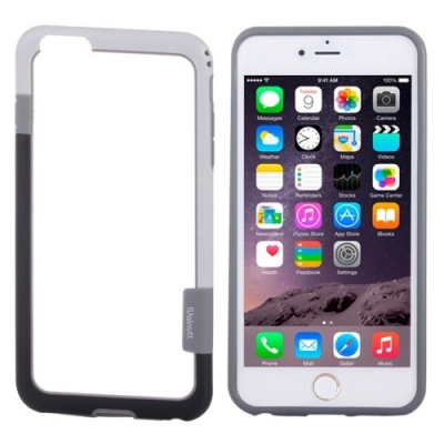 Walnutt Bumper iPhone 6 Plus - Ochranný rám pre iPhone 6 plus - white & black