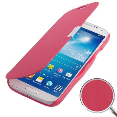 Samsung Galaxy S 4 / i9500 Módne diárové ochranné púzdro červené