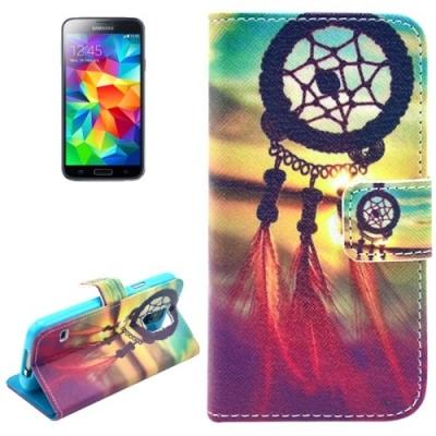 Kožené púzdro pre Samsung Galaxy S5mini-Lapač Snov