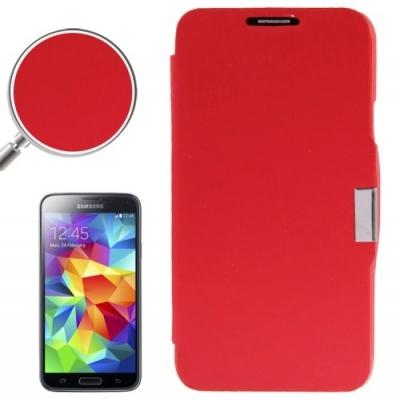 Samsung Galaxy S5 mini / G800 -Módne diárové ochranné púzdro-červené