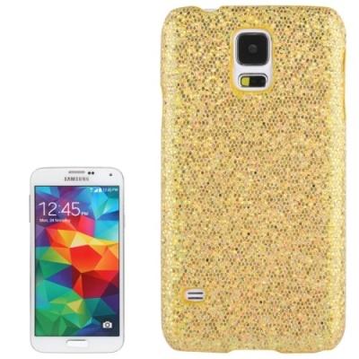 Trblietavý kryt pre Samsung Galaxy S5 mini/G800- yellow
