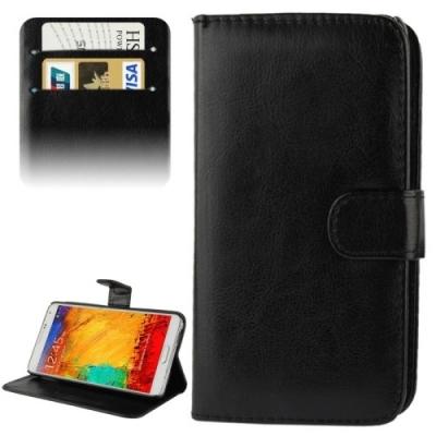 Samsung Galaxy Note III / N9000 Kožené diárové púzdro- black