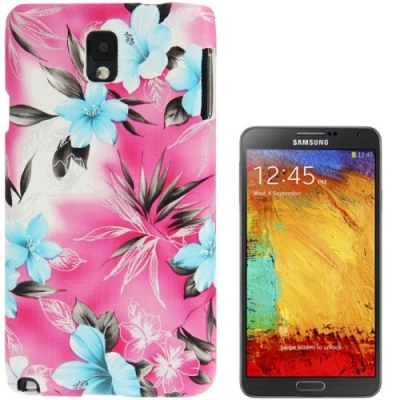 Ochranný kryt pre Samsung Galaxy Note III / N9000- Flowers pink