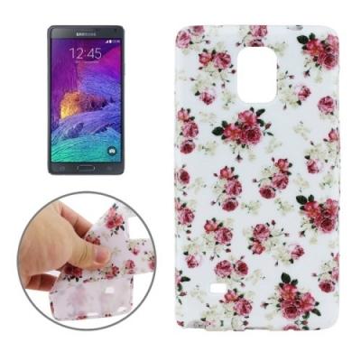 Ochranný kryt pre Samsung Galaxy Note 4 - roses