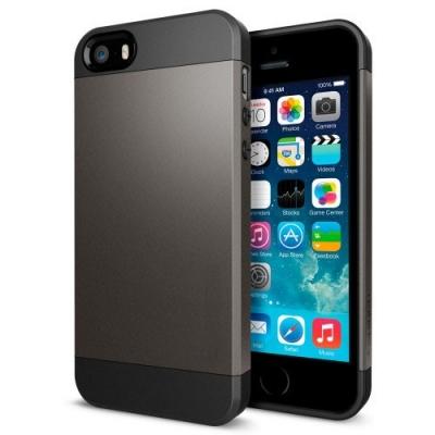 Armor Case Silver iPhone 5 & 5S - odolný obal pre iPhone 5/5S