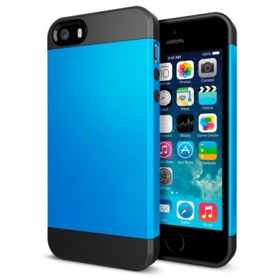 Armor Case Blue iPhone 5 & 5S - odolný obal pre iPhone 5/5S