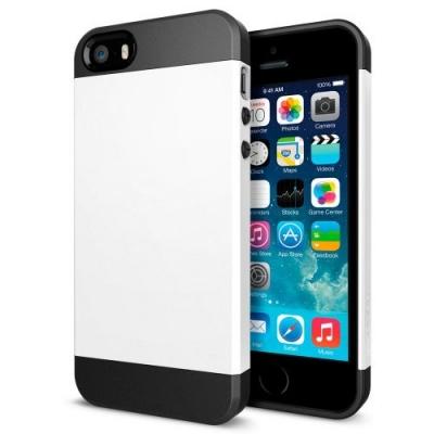 Armor Case White iPhone 5 & 5S - odolný obal pre iPhone 5/5S