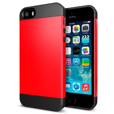 Armor Case Red  iPhone 5 & 5S - odolný obal pre iPhone 5/5S