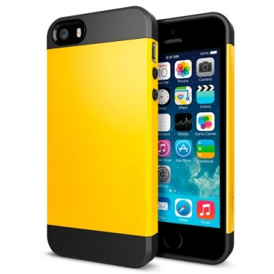 Armor Case Yellow  iPhone 5 & 5S - odolný obal pre iPhone 5/5S