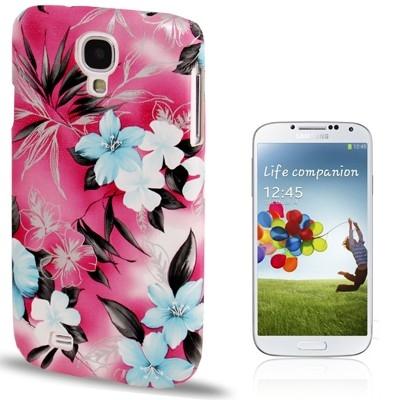 Ochranný kryt pre Samsung Galaxy S4- beautiful flower-pink