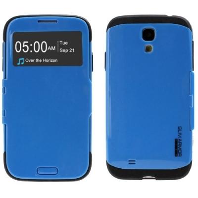 Dizajnové ochranné púzdro Samsung Galaxy S4/i9500- blue