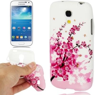 Ochranný flexi kryt pre Samsung Galaxy S IV mini / i9190- chinese flowers