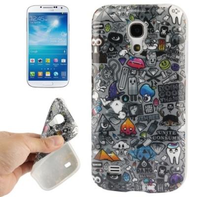 Flexi kryt pre Samsung Galaxy S IV mini / i9190- Pencil Drawing