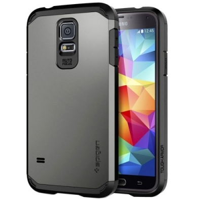 Armor Case pre Samsung Galaxy S5- dark grey