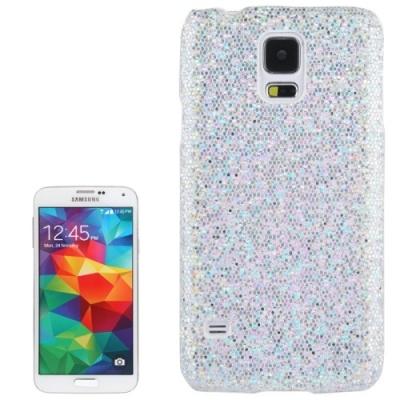 Trblietavý ochranný kryt pre Samsung Galaxy S5- silver
