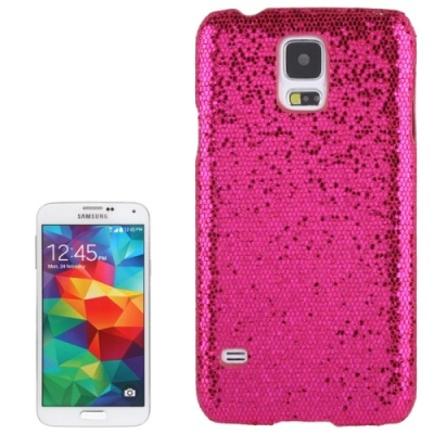 Trblietavý ochranný kryt pre Samsung Galaxy S5- pink