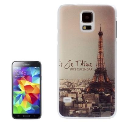 Ochranný kryt pre Samsung Galaxy S5- Eiffel Tower