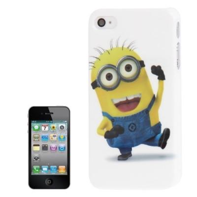 Ochranný kryt pre iPhone 4 / 4S-Mimoni- jump