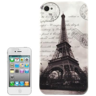 Ochranný kryt pre iPhone 4 & 4S- Eiffel Tower