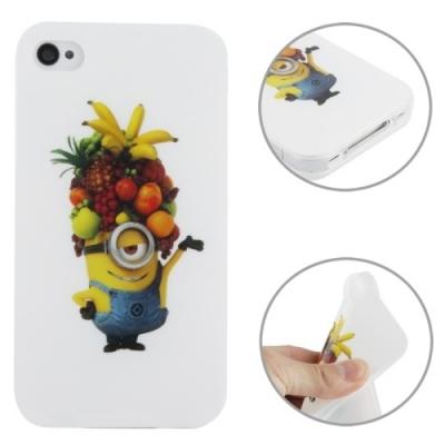 Flexi kryt pre iPhone 4 / 4S- Mimon Fruit