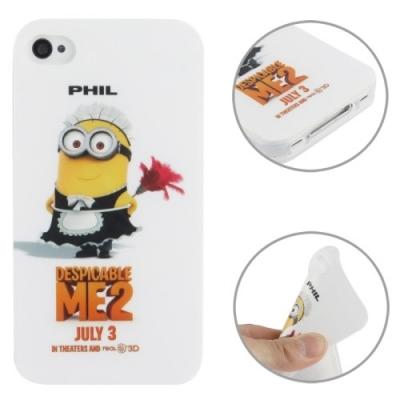 Flexi kryt pre iPhone 4 / 4S- Mimon Me2