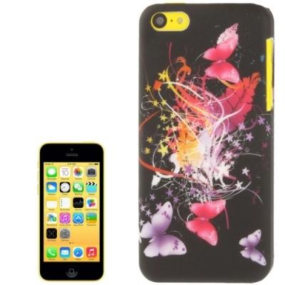 Ochranný kryt pre iPhone 5C- Dancing Butterfly