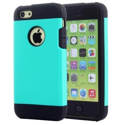 Slim Armor Case- Ochranný flexi kryt pre iPhone 5C- green