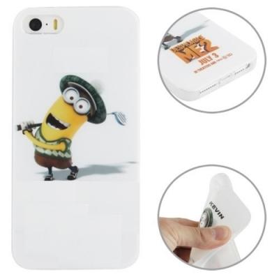 Flexi kryt Mimoni pre iPhone 5/5S - Kevin