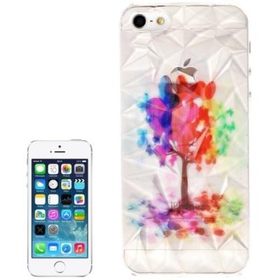 3D ochranný kryt pre iPhone 5  - Colourful Tree