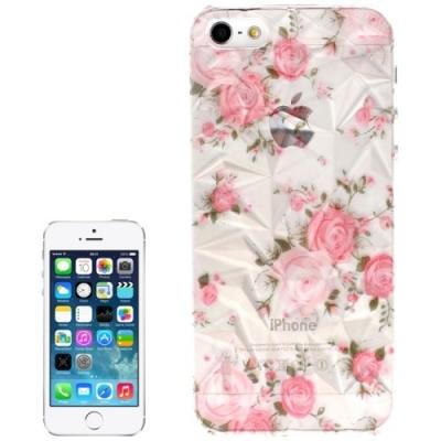 3D ochranný kryt pre iPhone 5  - Roses