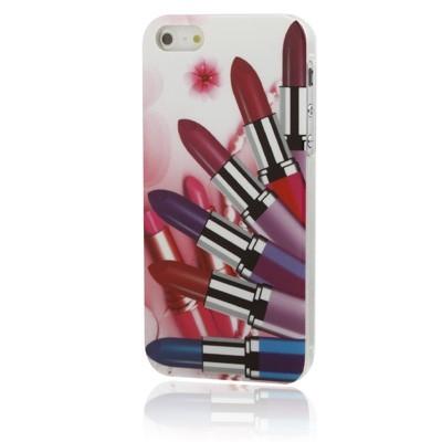 Ochranný kryt pre iPhone 5/5S- Lipstick
