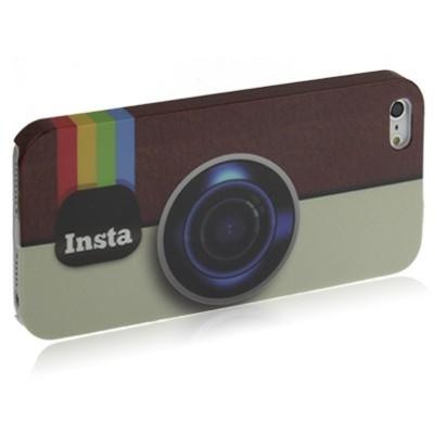 Ochranný kryt pre iPhone 5/5S- Camera