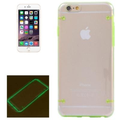 Ochranný kryt so svetielkujúcim efektom pre iPhone 6 Plus - green