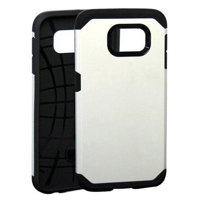 Ochranný kryt Hybrid Slim Armor na Samsung Galaxy S6/G920 - Biely