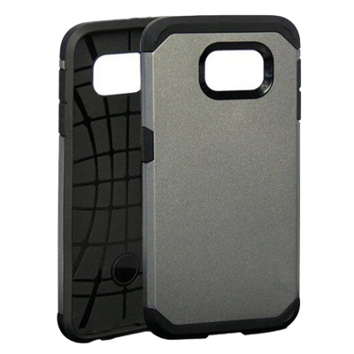 Ochranný kryt Hybrid Slim Armor na Samsung Galaxy S6/G920 - Šedý