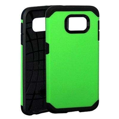 Ochranný kryt Hybrid Slim Armor na Samsung Galaxy S6/G920 - Zelený