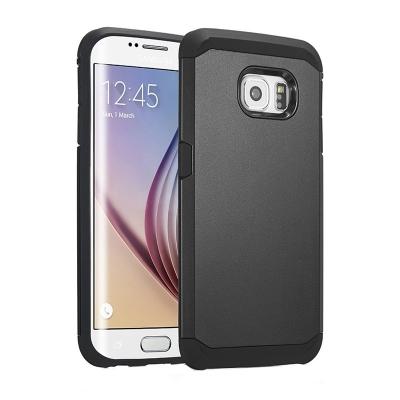 Ochranný kryt Hybrid Slim Armor na Samsung Galaxy S6 Edge/G925 - Čierny