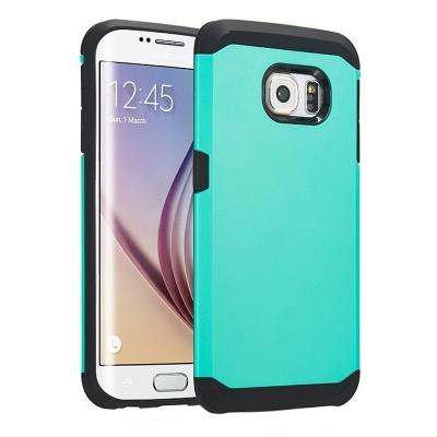 Ochranný kryt Hybrid Slim Armor na Samsung Galaxy S6 Edge/G925 - Zelený